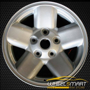 "17"" Dodge Ram 1500 oem wheel 2002-2003 Silver alloy stock rim ALY02165A20"