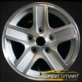 "17"" Dodge Durango oem wheel 2004-2007 Machined slloy stock rim ALY02212U10"