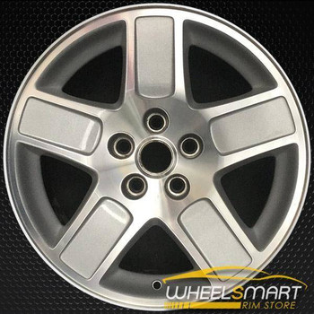 "17"" Dodge Charger oem wheel 2005-2007 Machined slloy stock rim ALY02246U10"