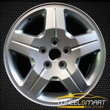 "17"" Dodge Caliber oem wheel 2007-2009 Silver slloy stock rim ALY02287A20"
