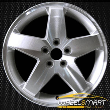 "18"" Dodge Caliber oem wheel 2007-2012 Machined slloy stock rim ALY02289U10"