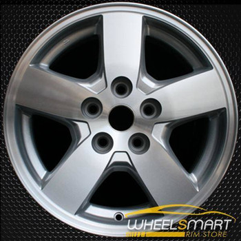 "16"" Dodge Nitro oem wheel 2007-2011 Machined slloy stock rim ALY02301A10"
