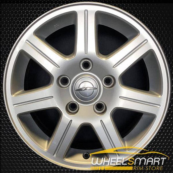 "16"" Chrysler Town and Country oem wheel 2008-2010 Silver alloy stock rim ALY02330U20"