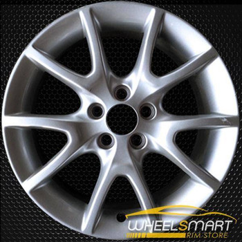 "17"" Dodge Dart oem wheel 2013 Silver slloy stock rim ALY02445U20"