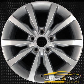 "18"" Dodge Durango oem wheel 2014-2018 Silver alloy stock rim ALY02492U20"