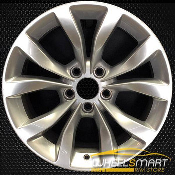 "17"" Chrysler 300 oem wheel 2015-2018 Silver alloy stock rim ALY02535U20"