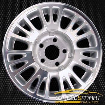 """15"""" Mercury Cougar oem wheel 1996-1997 Silver slloy stock rim ALY03168U10"""
