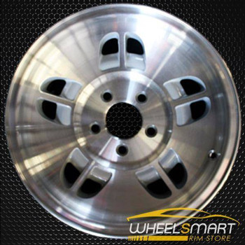 "14"" Ford Ranger oem wheel 1995-1996 Machined slloy stock rim ALY03184U10"