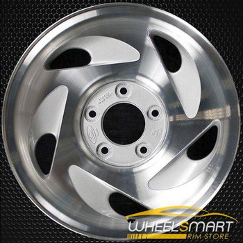 "17"" Ford Expedition oem wheel 1997-2000 Machined slloy stock rim ALY03196U15"