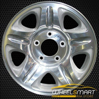 "16"" Ford Expedition oem wheel 1997-1999 Machined slloy stock rim ALY03255A15"