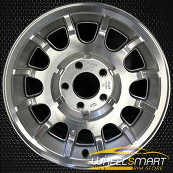 "15"" Ford Crown Victoria oem wheel 1995-1997 Silver alloy stock rim ALY03264A20"
