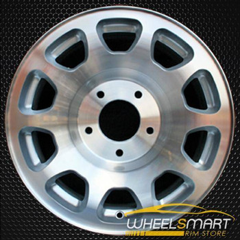 "16"" Lincoln Navigator oem wheel 1998-1999 Machined slloy stock rim ALY03279U10"