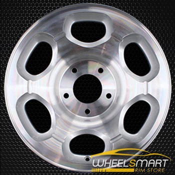 "17"" Lincoln Navigator oem wheel 1998-2000 Machined slloy stock rim ALY03280U10"