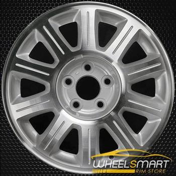 "16"" Lincoln Continental oem wheel 1999-2002 Machined slloy stock rim ALY03309U15"