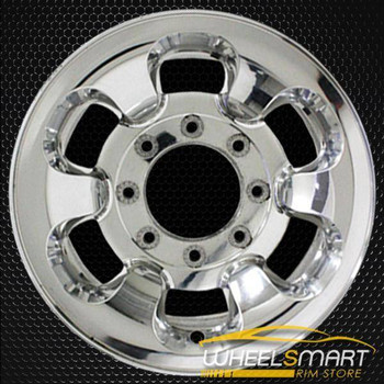 "16"" Ford F250 F350 oem wheel 1999-2000 Polished slloy stock rim ALY03407U80"