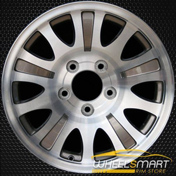 "17"" Ford F150 oem wheel 2001-2004 Machined slloy stock rim ALY03412U65"