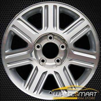 "18"" Lincoln Blackwood oem wheel 2002-2003 Machined slloy stock rim ALY03458U20"
