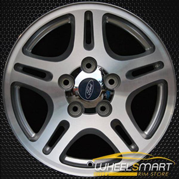 "17"" Ford F150 oem wheel 2000-2004 Machined slloy stock rim ALY03467U10"