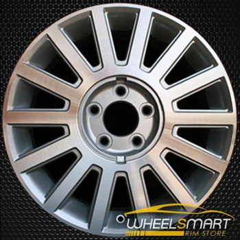 "17"" Lincoln Town Car oem wheel 2003-2005 Machined slloy stock rim ALY03504U10"