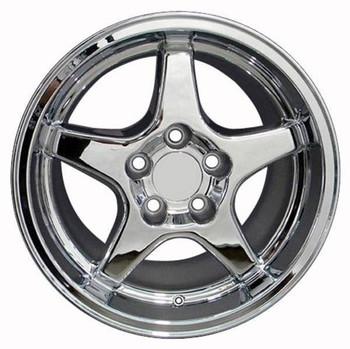 """17"""" Pontiac Firebird  replica wheel 1993-2002 Chrome rims 4750750"""