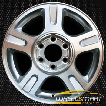 "17"" Ford Expedition oem wheel 2003-2006 Machined slloy stock rim ALY03516U10"