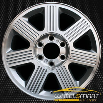 "18"" Lincoln Navigator oem wheel 2003-2006 Machined slloy stock rim ALY03519U20"