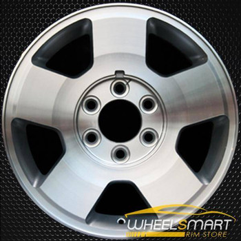 "17"" Ford F150 oem wheel 2004-2008 Machined slloy stock rim ALY03556U20"