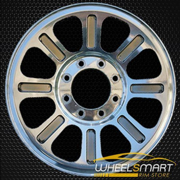 "18"" Ford F250 F350 oem wheel 2005-2010 Polished alloy stock rim ALY03604U80"