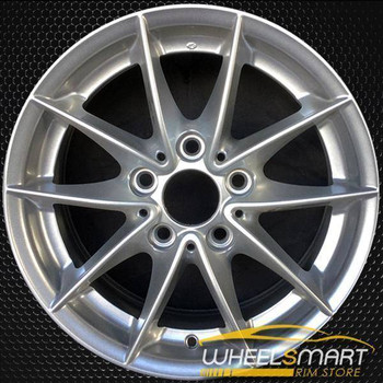 "17"" BMW X Series oem wheel 2011-2018 Silver alloy stock rim 71472"