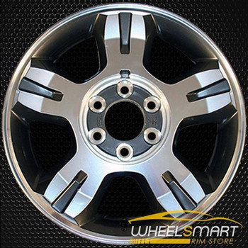"18"" Ford F150 oem wheel 2007-2008 Polished slloy stock rim ALY03663U80"