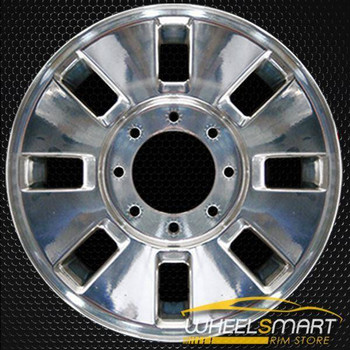 "18"" Ford F250 F350 oem wheel 2008-2010 Polished alloy stock rim ALY03689U80"
