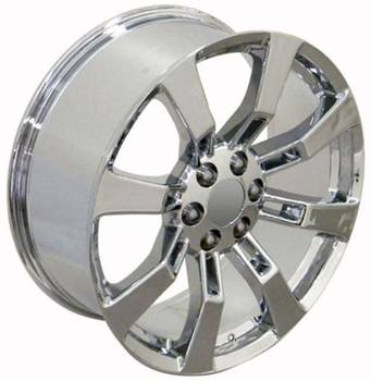 "22"" Chevy Tahoe replica wheel 1995-2019 Chrome rims 8579273"