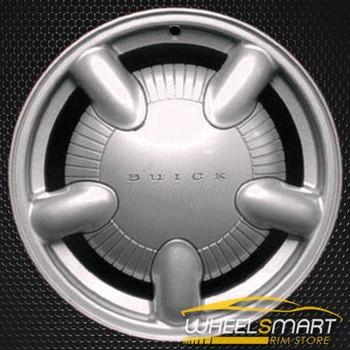 "15"" Buick LeSabre oem wheel 2000-2001 Silver slloy stock rim ALY04033U10"