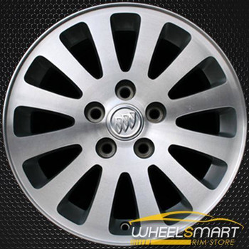 "16"" Buick LeSabre oem wheel 2005 Machined slloy stock rim ALY04054U10"