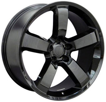 "20"" Dodge Challenger replica wheel 2009-2018 Black rims 9360888"