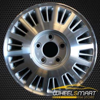 "15"" Cadillac Deville oem wheel 1991-1993 Machined slloy stock rim ALY04504U10"