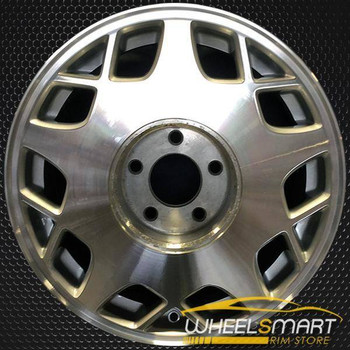 "16"" Cadillac Deville oem wheel 1995-1997 Machined slloy stock rim ALY04520U10"