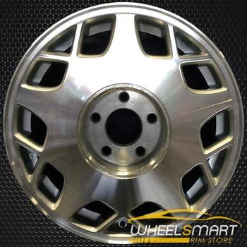 "16"" Cadillac Deville oem wheel 1995-1997 Machined slloy stock rim ALY04520U10"