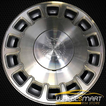 "16"" Cadillac Deville oem wheel 1996-1999 Machined slloy stock rim ALY04525U10"