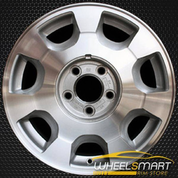"16"" Cadillac Deville oem wheel 2000 Machined slloy stock rim ALY04549U10"