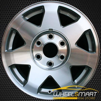 "17"" Cadillac Escalade oem wheel 2002-2006 Machined slloy stock rim ALY04563U20"