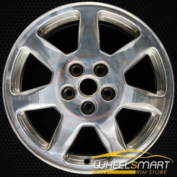 "17"" Cadillac Seville oem wheel 2001-2004 Polished slloy stock rim ALY04564U80"