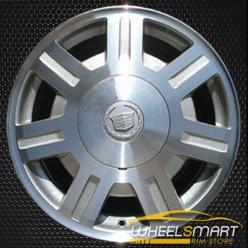"16"" Cadillac Deville oem wheel 2003-2005 Machined slloy stock rim ALY04569U20"