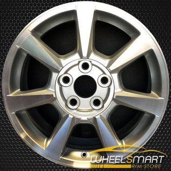 "17"" Cadillac CTS oem wheel 2008-2009 Machined slloy stock rim ALY04623U10"