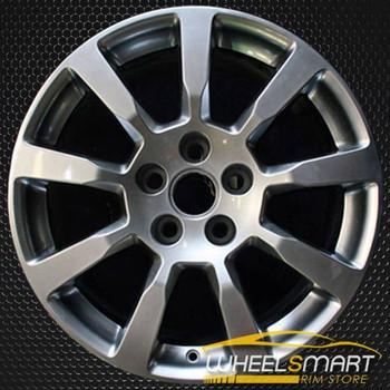"18"" Cadillac CTS oem wheel 2008-2009 Hypersilver slloy stock rim ALY04627U78"