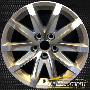 "17"" Cadillac CTS oem wheel 2014-2016 Machined slloy stock rim ALY04713U10"