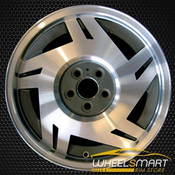 "15"" Chevy Cavalier oem wheel 1991-1994 Machined slloy stock rim ALY05004U10"