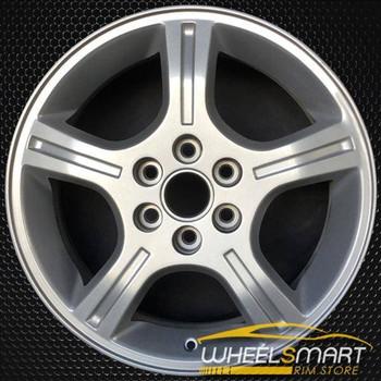 """17"""" Chevy Uplander oem wheel 2006-2009 Silver slloy stock rim ALY05012U20"""