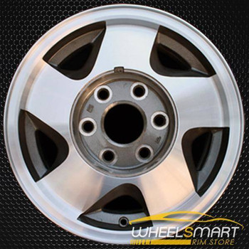 "16"" Chevy Suburban oem wheel 1992-1999 Machined slloy stock rim ALY05015U30"