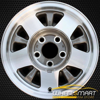 "15"" Chevy Silverado oem wheel 1991-2002 Machined slloy stock rim ALY05016U10"